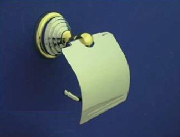Rába WC papír tartó (króm-arany)