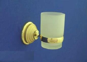 Rába Fogmosó pohár, tartóval (arany-matt arany)