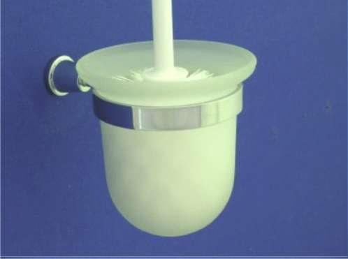 Maros WC kefe, tartóval (króm)