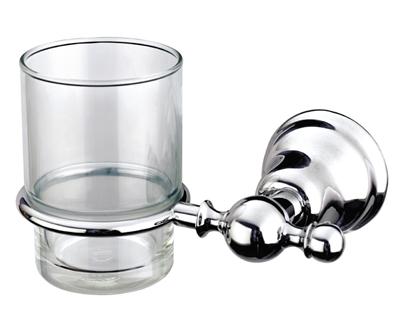 Duna Fogmosó pohár, tartóval (króm)
