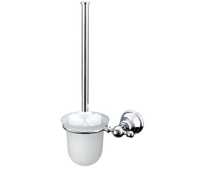Duna WC kefe, tartóval (króm)