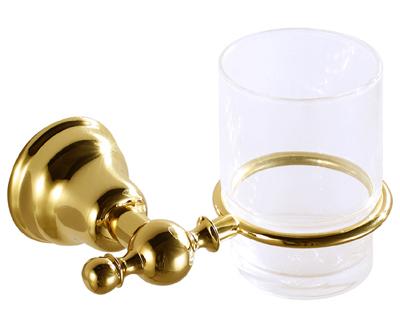 Duna Fogmosó pohár, tartóval (arany)