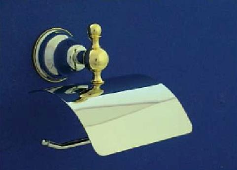 Duna WC papír tartó (arany/króm)