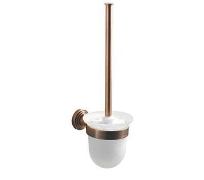 Koppány WC kefe, tartóval (bronz)